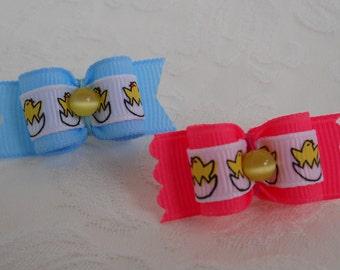 "Dog Bow-  5/8"" Lil' Peeps Dog Bow"