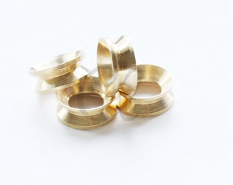 10pcs Raw Brass Spacer - Ring 12mm (1910C-T-292)