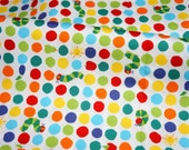 Very Hungry Caterpillar Fabric Half Meter 50 cm by 106 cm or 19.6 by 42 inches