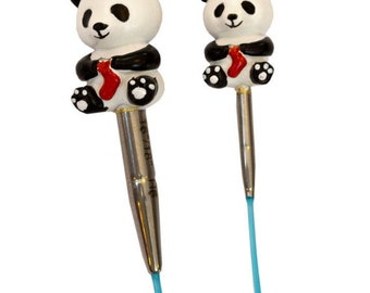HiyaHiya Pack of 2 Panda Cable Stoppers - Small or Large tips 2.75mm to 10mm