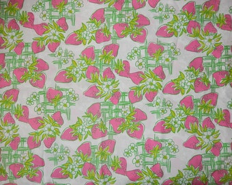 New memo board made with Lilly Pulitzer Creme Fraiche fabric