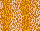 SALE - Spotted in a Crowd Laminated Cotton Fabric - Sold in continuous 1 yard increments