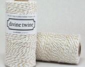 Gold Metallic Baker's Twine, Divine, 240 Yards, 720 Feet