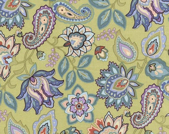 Timeless Treasures Wing and A Prayer  C2153 Sage 1/2 yd cuts cotton fabric