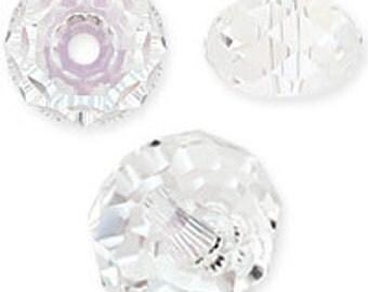 6mm 5040 Moonlight Swarovski crystal beads (12)