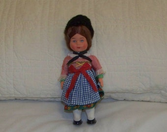 Small Vintage  Doll