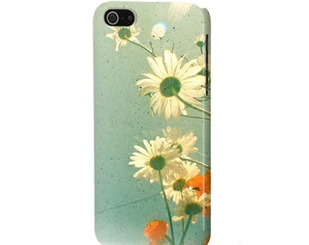 SALE 10% OFF Flower Phone Case for iPhone 4/4S, 5/5S, 5c and Samsung Galaxy S3, S4. - Daisy