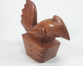 Vintage wooden rooster vintage decor wooden rooster