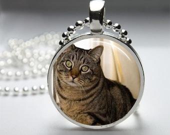 Custom Pet Necklace, Personalized Necklace Jewelry, Pet Photo Pendant, Photo Jewelry, Pet Memorial Photo Necklace