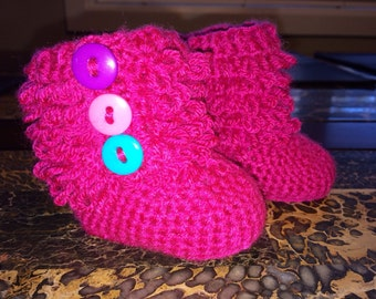 Baby Ruffle Booties 0-12 months