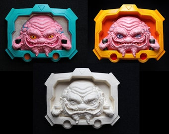 KRANG KIT - unpainted belt buckle