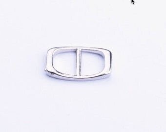 Bracelet buckle, Bar connector loop , 6 ea