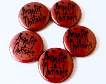 Angelic Upstarts 1 inch Pinback Button or Magnet