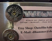 Bullet Magnets Winchester 12 Gauge Shotgun Shell Repurposed Recycled