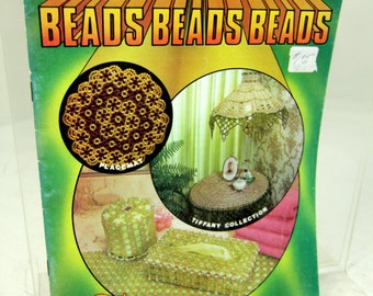 Vintage Beads Beading Craft Book by Taurus - from Kitschy to Classy Girlie Glam