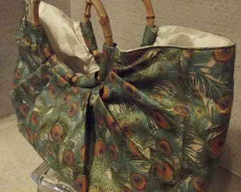 For all Peacocks! A Beautiful Bag