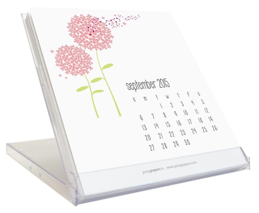 Sale 2015 Desk Calendar Cd Jewel Case Clear Plastic By