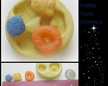 Cereal Crunch Berry Mold Silicone Clay DIY Jewelry Charm Cabochon Mould