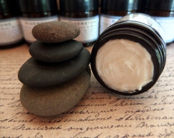 Riverstone Hand & Body Butter -  pure organic shea butter lightly whipped with an earthy, mossy, pebbly blend of natural essential oils