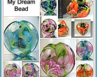 My Dream Bead Lampwork Tutorial Ebook English Version