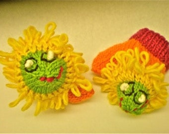 Special For Sharon. Mittens to Match Hat & Material to create Gumdrop Hat