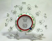 Christmas Berries Recycled Aluminum Can Photo Frame