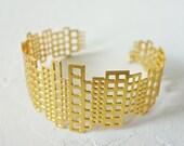 Manhattan Bracelet, Architectural jewelry, urban jewelry