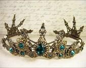 Renaissance Tiara, Medieval Tiara, Medieval Crown, Custom Wedding Tiara, Bridal Headpiece, Renaissance Wedding, Tudor, Design Your Own Crown