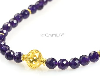 SALE Royal Amethyst Necklace