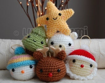 Christmas Friends Pattern
