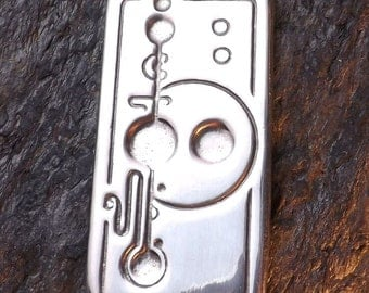 Contact - Pewter Pendant - Making contact with our Sky Brothers, (Aliens), UFO's, Earth changes and our Spiritual Growth, Jewelry