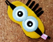 FREE SHIPPING! -- Sleeping Eye Mask - Minion
