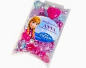 Anna Beads Collection, Frozen Theme Bead collection, about 70 beads, Jesse James Beads