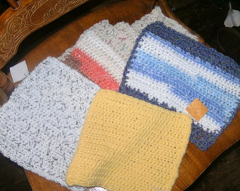 Cotton washclothes, dishclothes