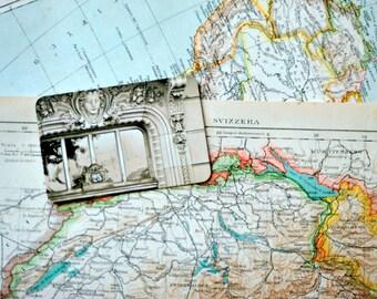 1907 Italian Antique Map of Switzerland