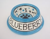 Feed Your Dog in Style - PERSONALIZED Custom Dog Bowl -Paws N' Bones SMALL