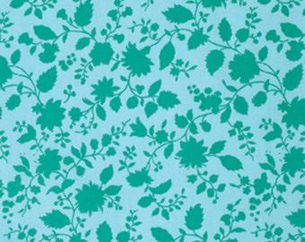 Violette -  Twilight Vine in Sky - Amy Butler - Half Yard Cotton Fabric