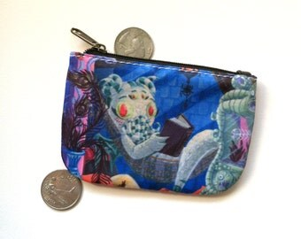 Cute Cthulhu Girl - Musuem of the Weird Rolly Crump Tribute with Monster Girl Coin Purse