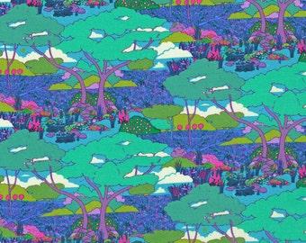 Liberty Fabric Oxford B Blues Tana Lawn Fat Quarter