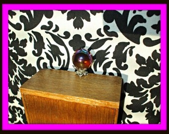 Gothic Fairy Witch Wizard Magic Crystalball dollhouse miniature
