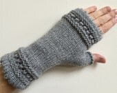 Light Grey French Handwarmers