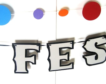 FESTIVUS Banner, HAPPY FESTIVUS Banner, Festivus Party Decor, Festivus Garland, Festivus Party, Festivus Miracle, Traditional Aluminum Pole