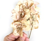 beige flower headband - bohemian hair accessory - floral hair piece - coachella hair accessory - women's flower headband - floral headband