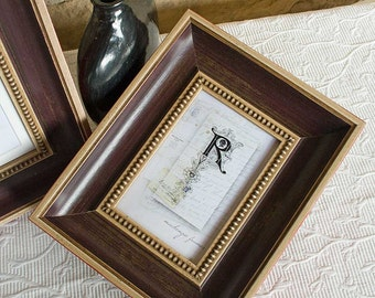 5x7 Aubergine Antique Style Photo Frame
