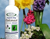Organic Oatmeal Shampoo Formulated for Dogs 16oz - Best Oatmeal Shampoo on the Market!