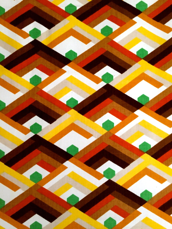 groovy ann es 70 scandinaves g om trique op art design tissu. Black Bedroom Furniture Sets. Home Design Ideas