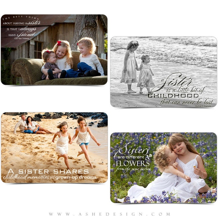 sister word art quotes photo overlays for by ashedesign on