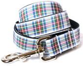Dress Stewart Tartan Large Dog Leash 5'