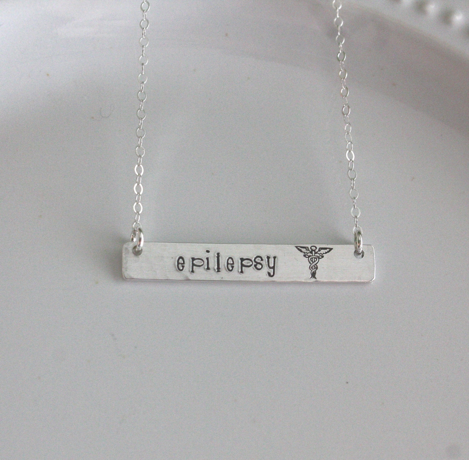 Medic Alert Necklace: Medical ID Jewelry Medic Alert Necklace Sterling Silver