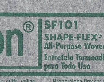 4 1/2 yards of Shape-Flex SF101, white  - Pellon